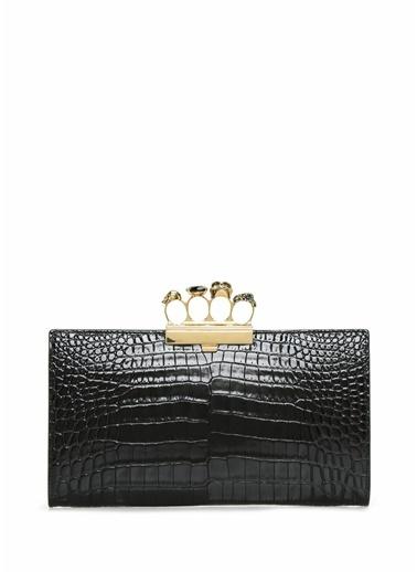 Alexander McQueen Clutch / El Çantası Siyah